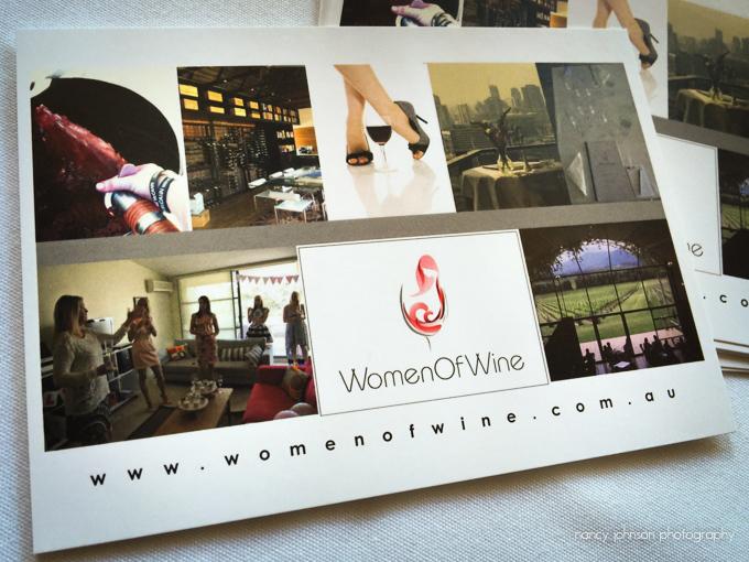 Women Of Wine postcard