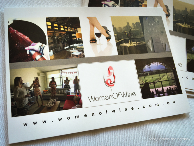Women Of Wine postcard