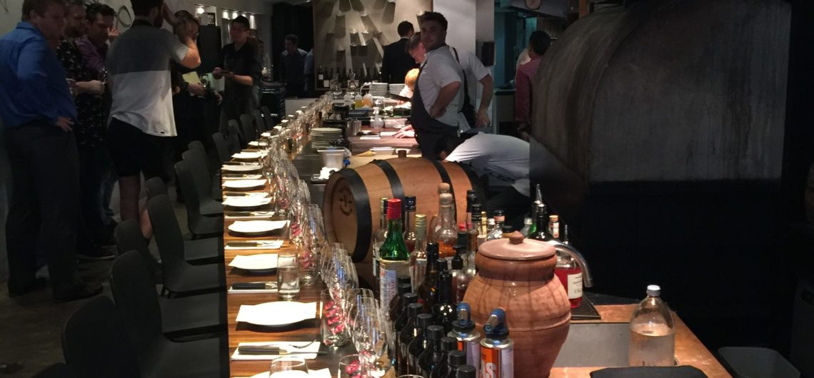 The day of the tasting