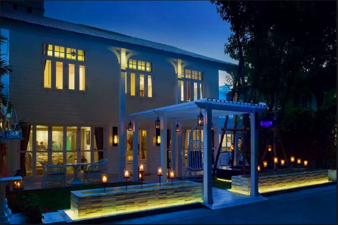 Gaggan at dusk